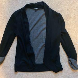black cardigan/blazer